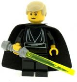 Star Wars Luke Skywalker (Black) - Custom Designed Minifigure